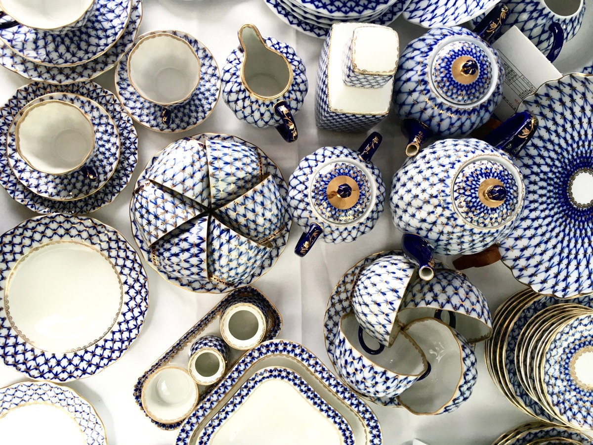Vintage Lomonosov Imperial Porcelain