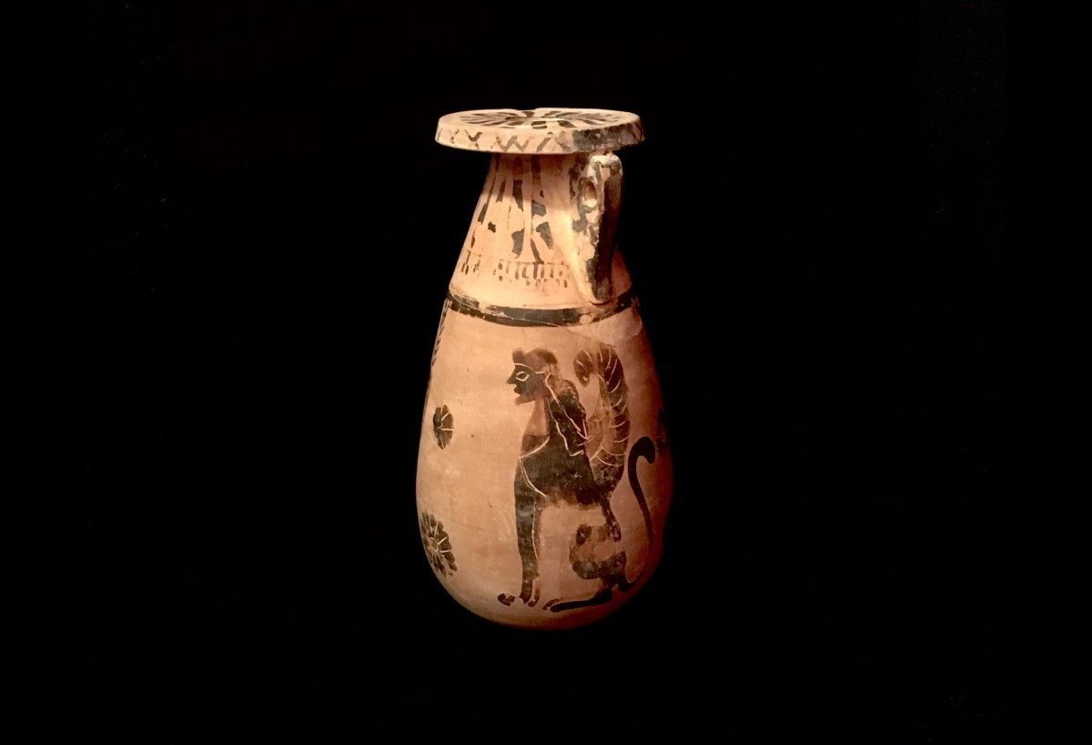 Corinthian black-figure pottery(SOLD)