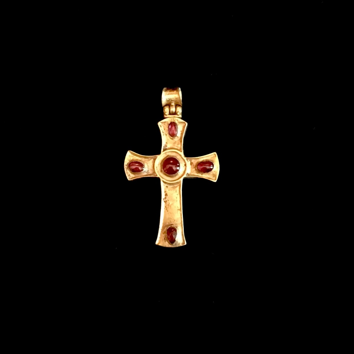 Byzantine gold cross pendant(SOLD)