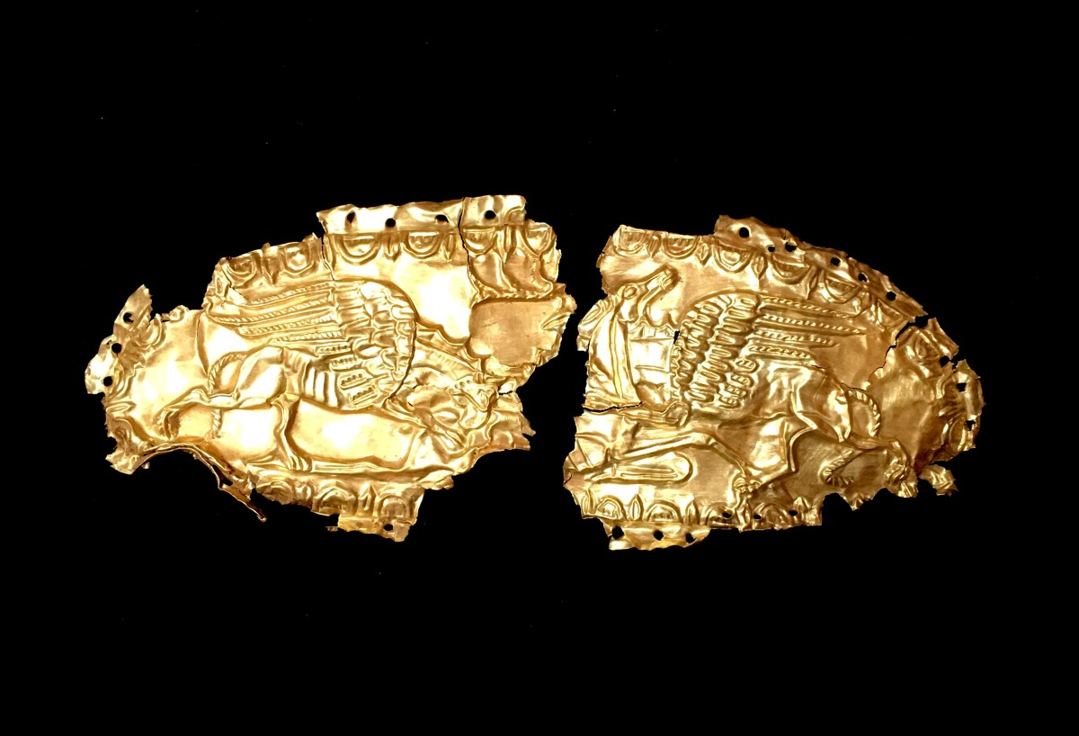 Scythian gold plaque(SOLD)