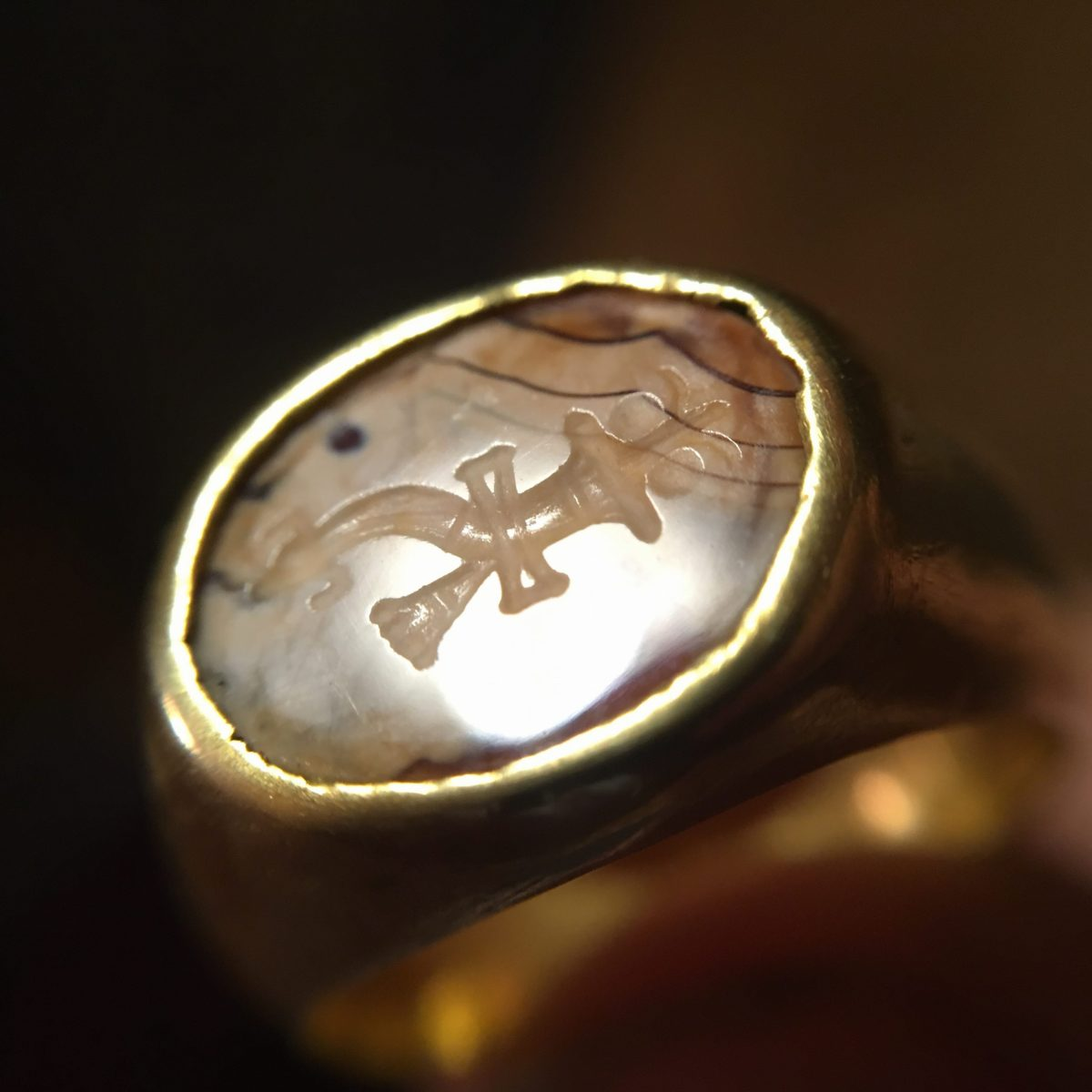 intaglio ring(SOLD)