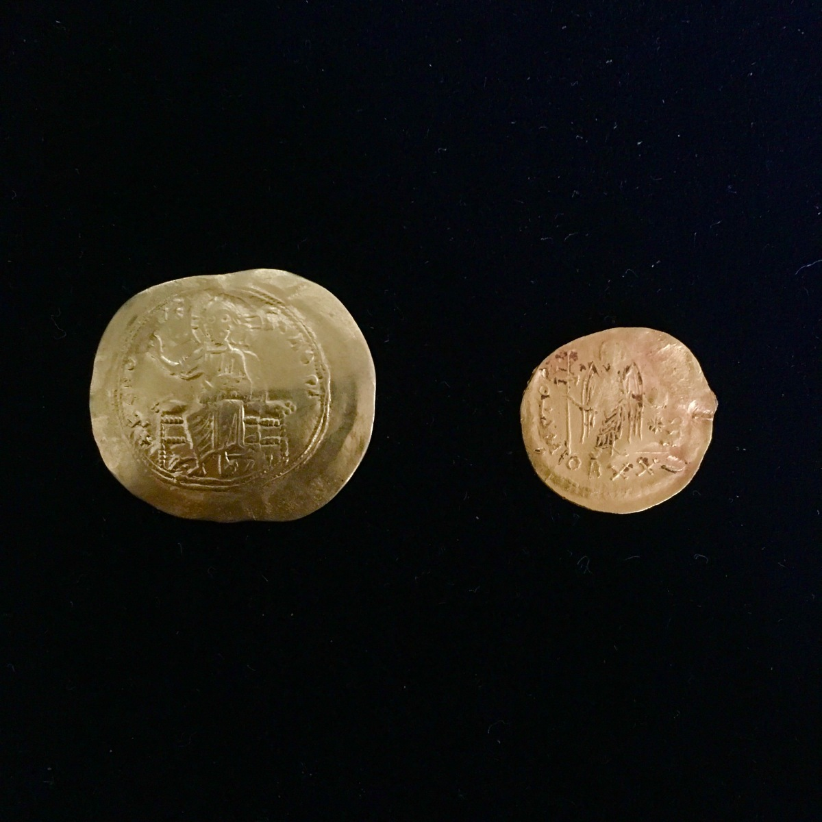 Byzantine gold coin(SOLD)