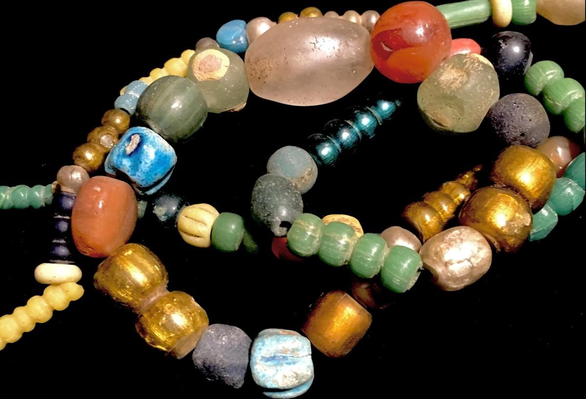 Byzantium beads neckrace