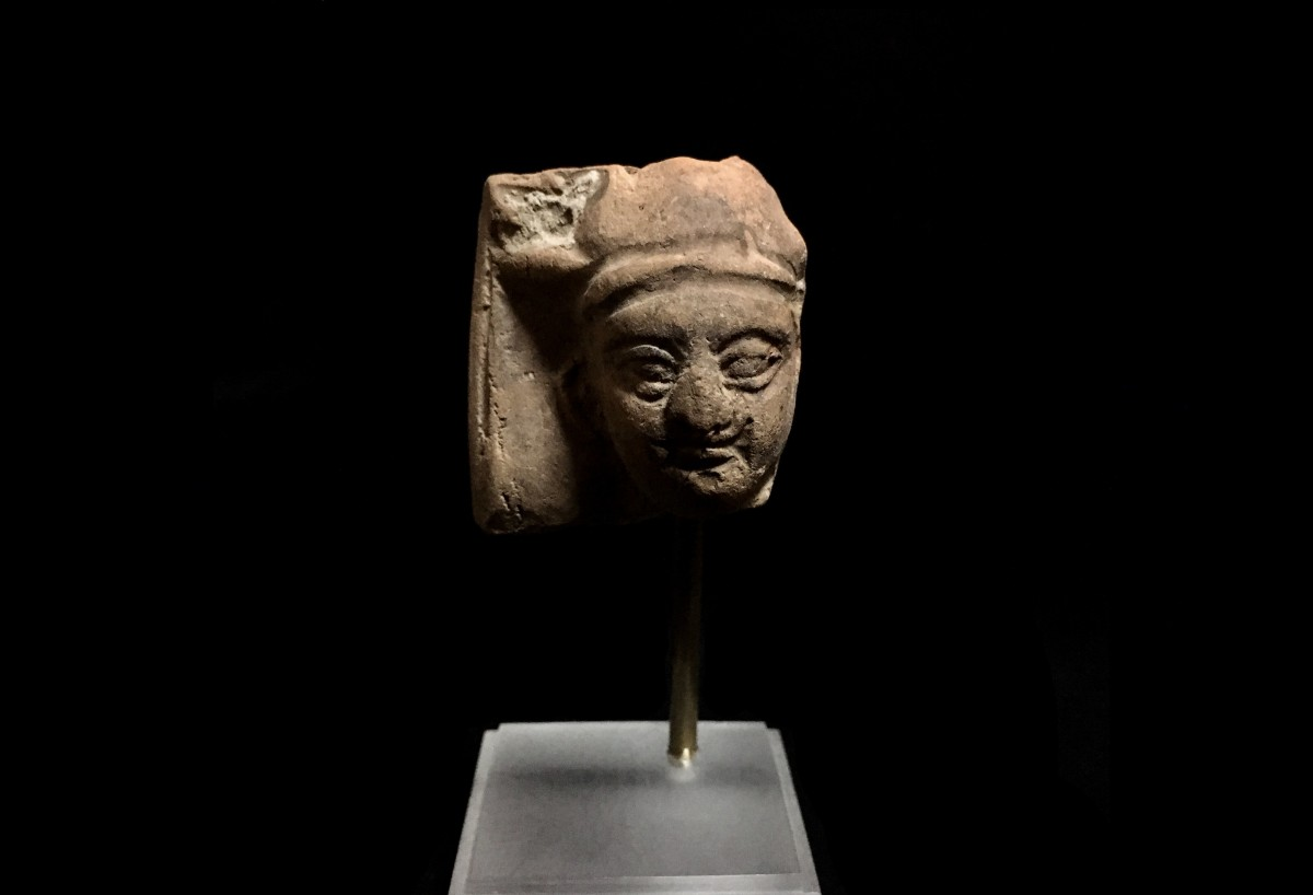 Terracotta head(SOLD)