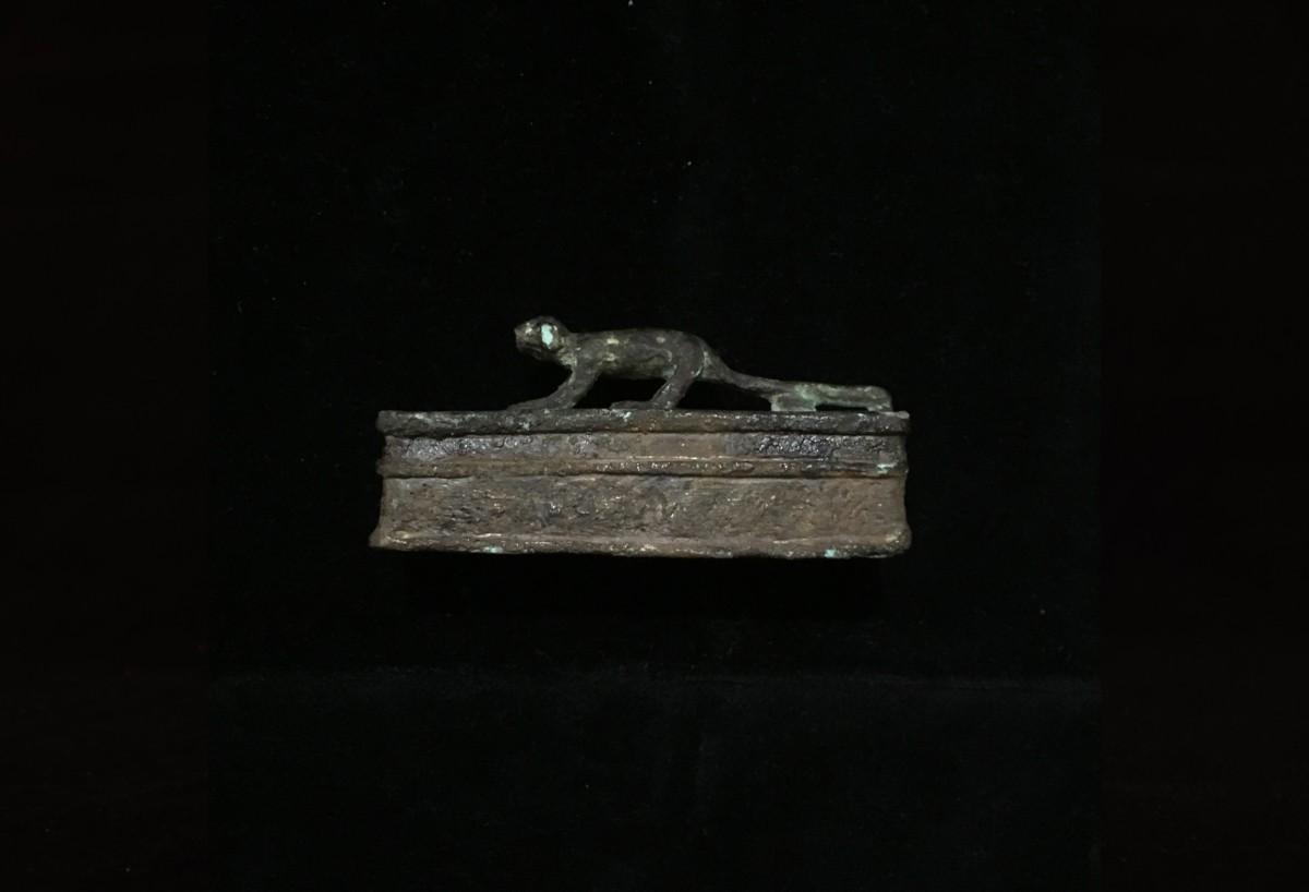 Egyptian Bronze Sarcophagus