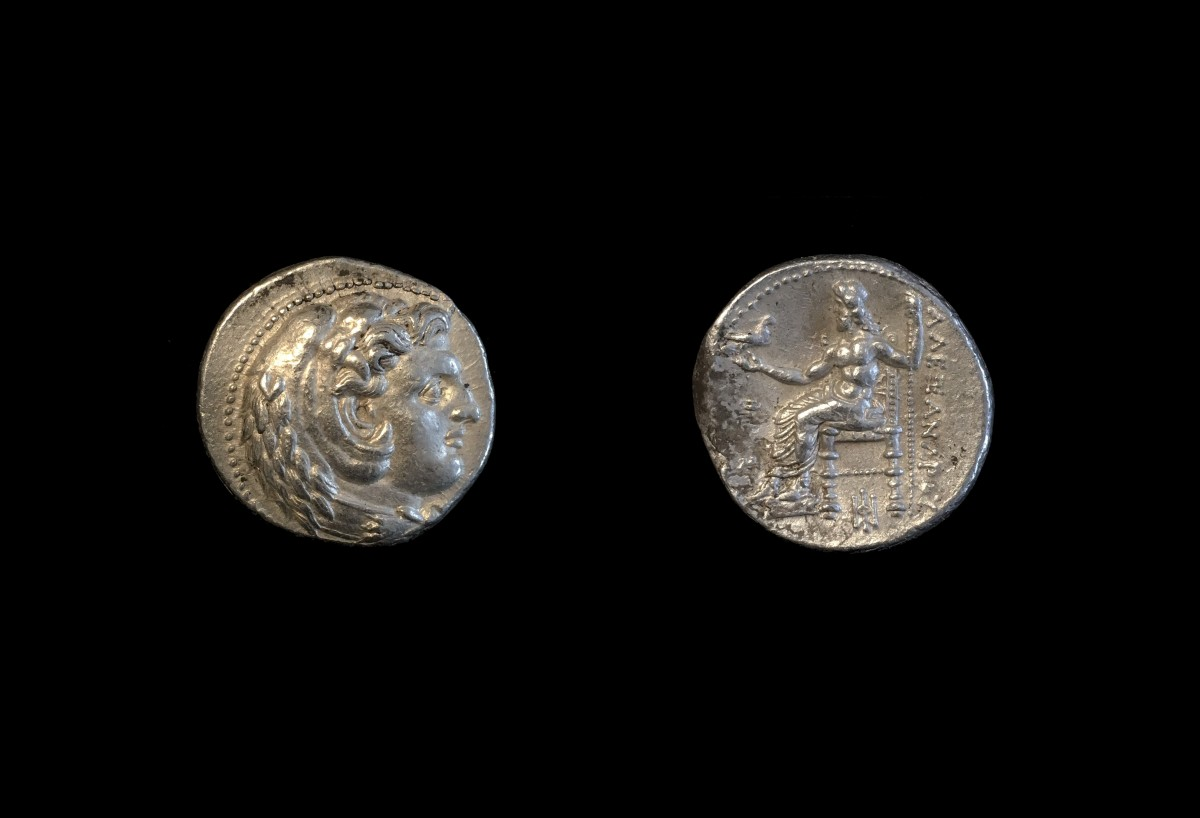 Silver Tetracrachm of Alexander the Great