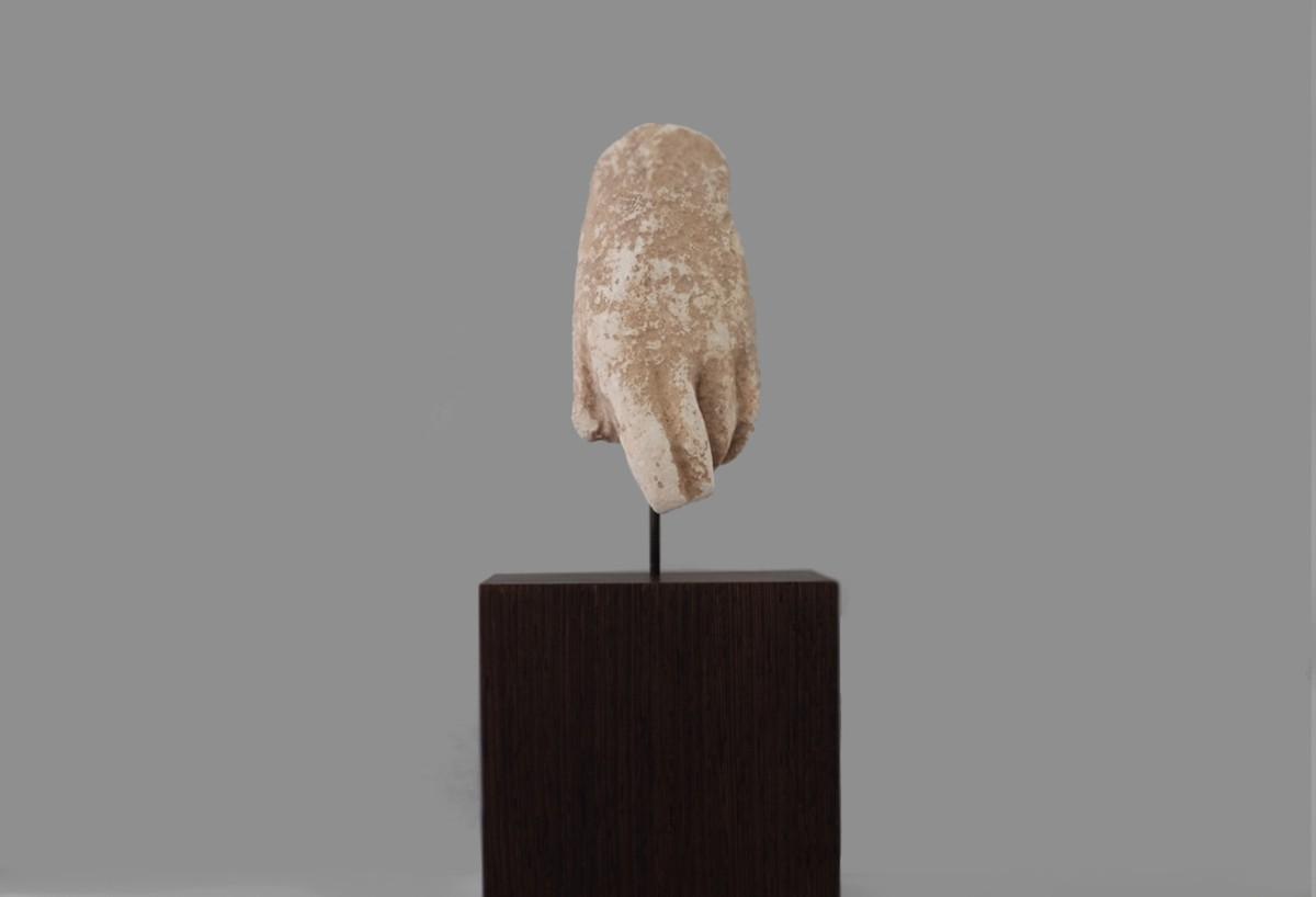 Greek stone hand