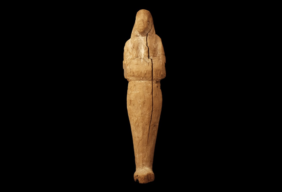 Egyptian wooden Ushabti