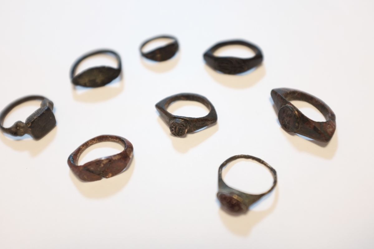 Greek-Roman bronze rings